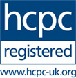 HCPC - Health & Care Professions Council Registered - www.hpcp-uk.org
